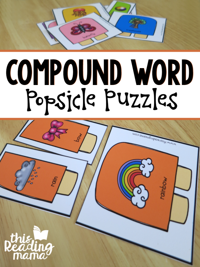 FREE Compound Word Popsicle Puzzles - This Reading Mama