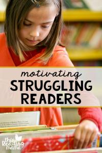 Motivating Struggling Readers {1 Simple Tip}