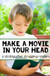 Visualize While Reading by Making a Movie In Your Head
