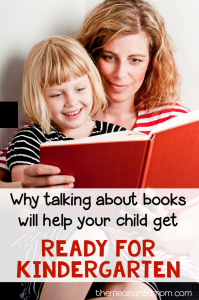 Talking About Books with Your Child – Get Ready for Kindergarten