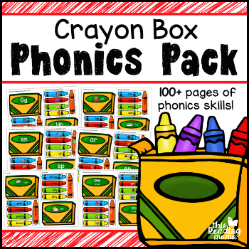 Crayon Box Phonics Pack - 350
