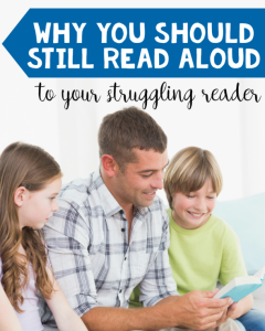 Read Aloud to Struggling Readers