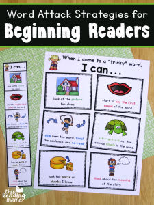 Word Attack Strategies for Beginning Readers