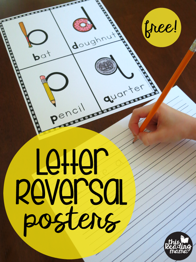 Free Letter Reversal Posters - This Reading Mama