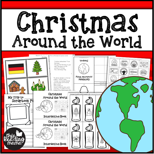 Christmas Around the World K-2 Unit Study from This Reading Mama