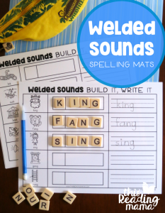 FREE Welded Sounds Spelling Mats