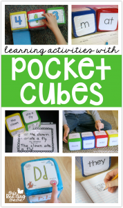 Pocket Cubes Learning Activities