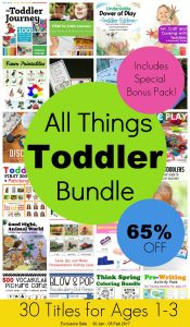 All Things Toddler Bundle Pack