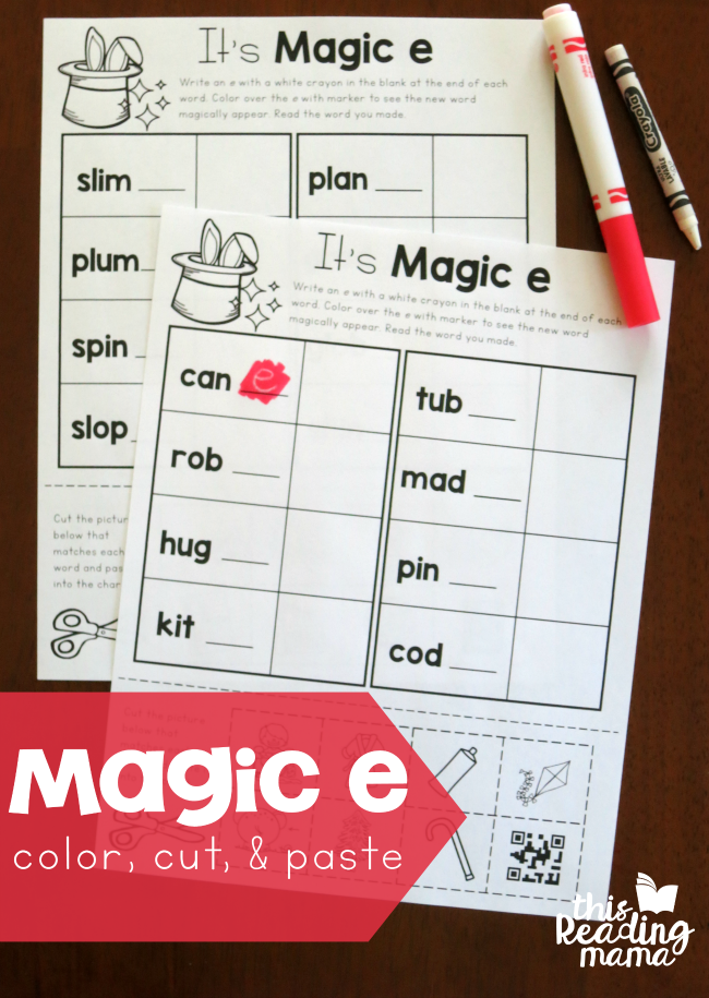More Magic E Words Freebies This Reading Mama