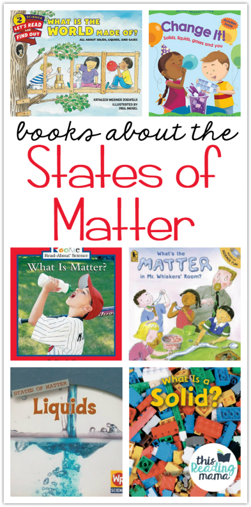 States of Matter Books for Kids - This Reading Mama