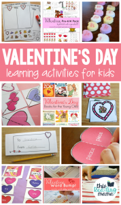 Valentine's Day Learning Activities for Kids