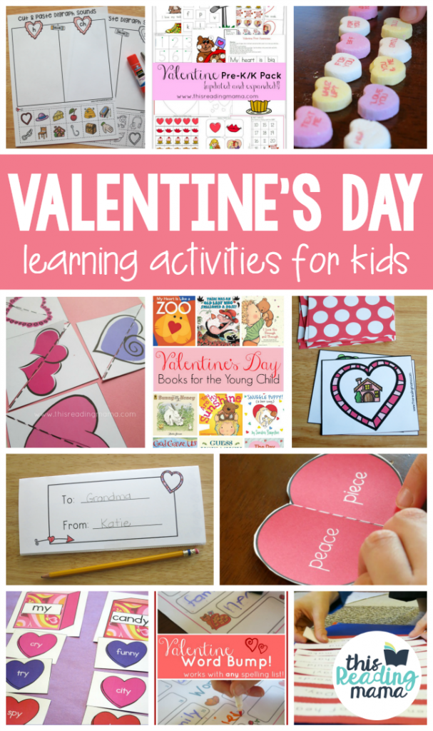 Valentine's Day Learning Activities for kids - This Reading Mama