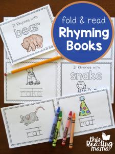 Fold & Read Animal Rhyming Books