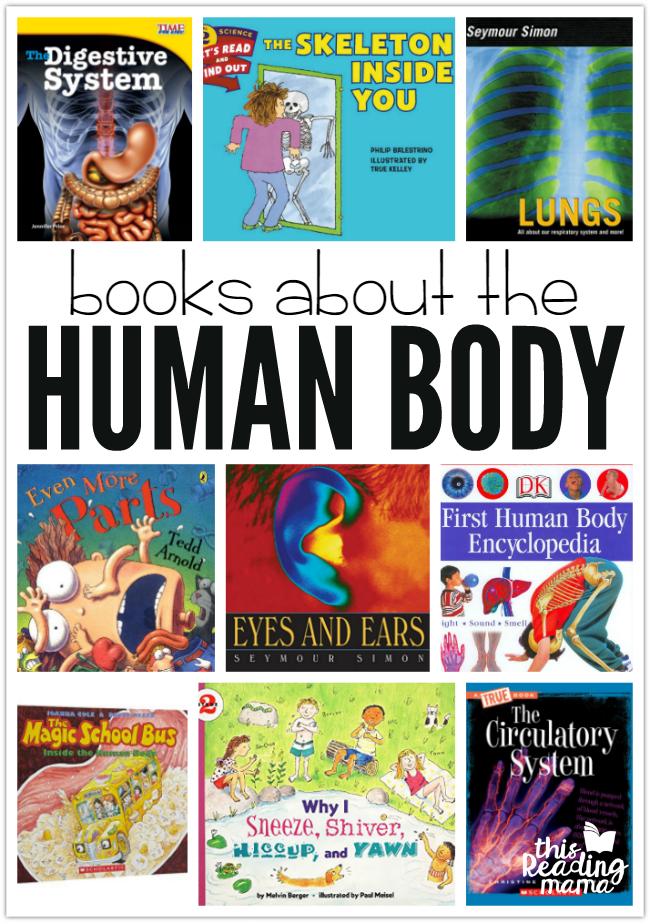 Human Body Books For Kids This Reading Mama