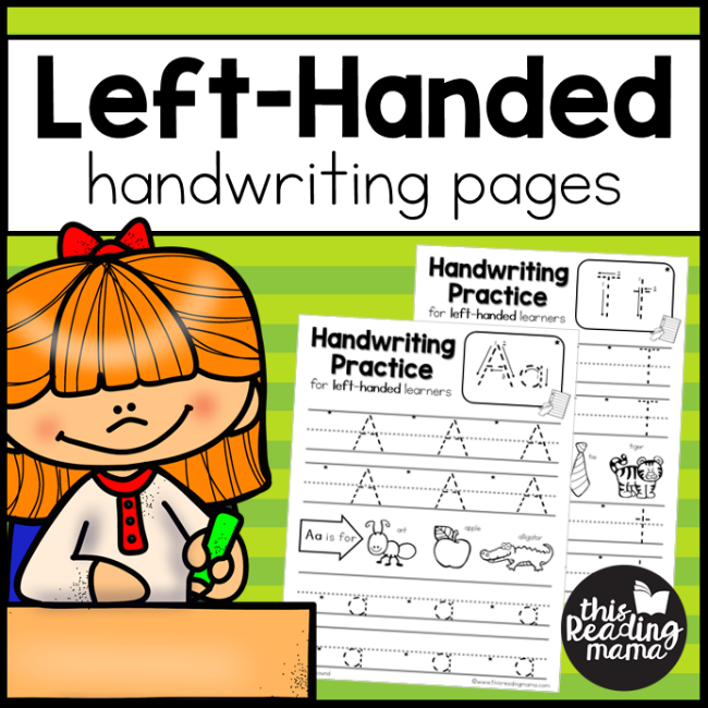 Left handed handwriting pages this reading mama ibookread Read Online