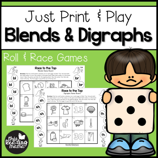 blends and digraphs games online