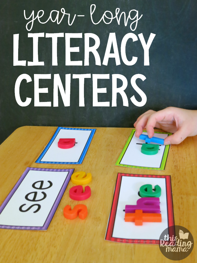 picture regarding Printable Literacy Centers First Grade named 12 months-Extensive Literacy Facilities with No cost Decision