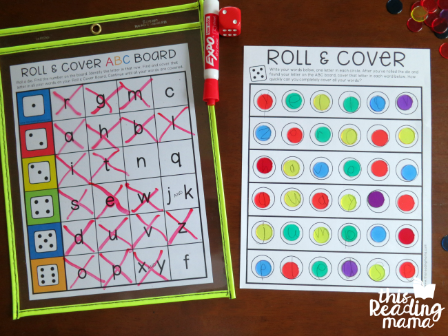50 hands on spelling activities for phonics and sight words roll cover game fandeluxe Images