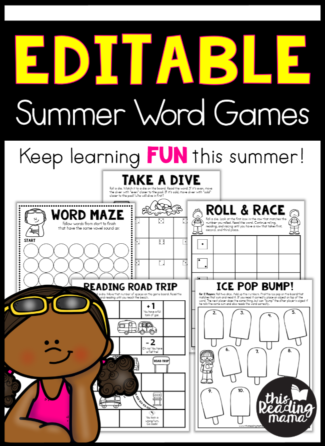 editable summer word games this reading mama