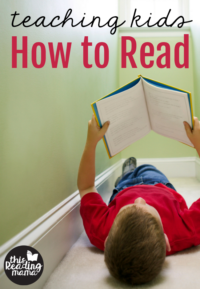 Teaching Kids How to Read - resources from This Reading Mama