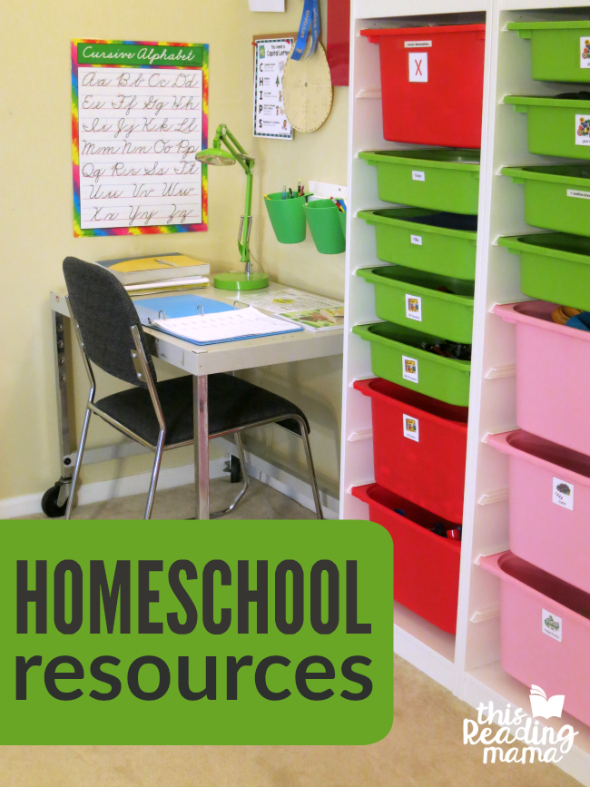 Homeschooling Resources and Tips from This Reading Mama